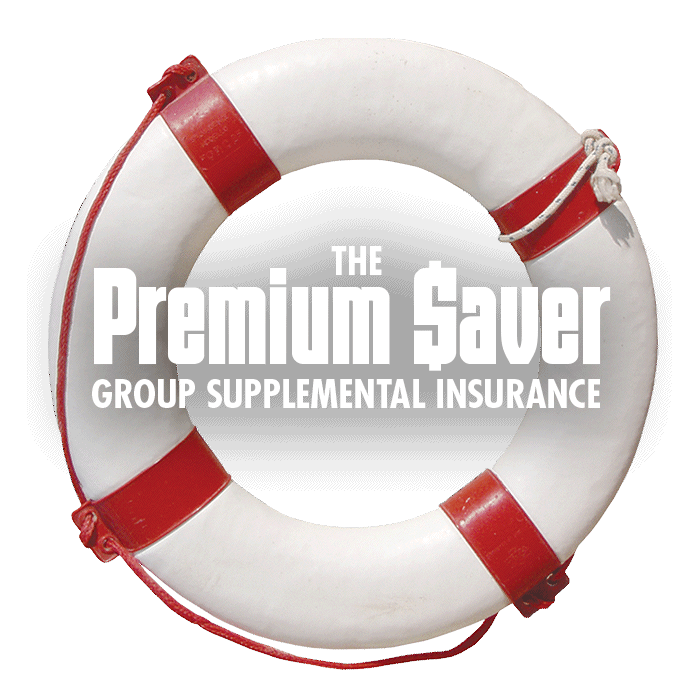 Premium Saver Group Supplemental Insurance Life Raft Logo